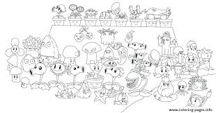 Appealing Plants Vs Zombies Printable Coloring Pages New Chomper All Line Art Print Download Li