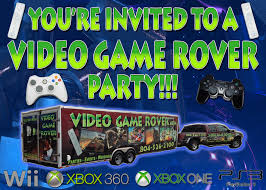 Innovation Idea Game Truck Party Ideas Video Rover Mobile - Wedding
