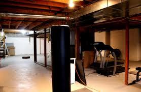 Cheap Basement Ceiling Ideas by Unfinished Basement Ceiling Ideas On Budget Surripui Net
