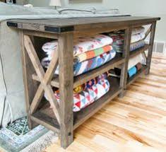 X Console Table Ana White Build A Rustic Free And Easy Diy Project Furniture Plans Always Use Straight Boards