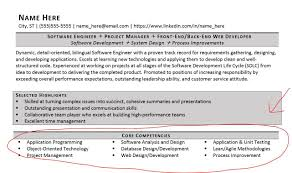 Competencies List For Resume by Exle Of Competencies In Resume