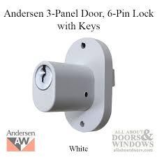 Andersen 200 Series Patio Door Lock by 6 Pin Lock Schlage Exterior Door Lock All About Doors And Windows