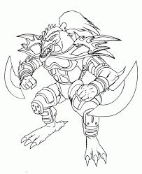 Monster Card Rude Kaiser Coloring Pages Yu Gi Oh