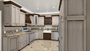 Kitchen Large Size Brown Cabinetry Wtih Granite Couintertop Also Dishwasher Gas Hob With Oven
