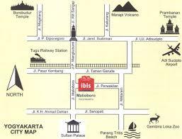 Hotel Ibis Yogyakarta Malioboro Map