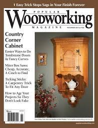 november 2010 186 popular woodworking magazine