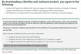 Unt Faculty Help Desk by Download Mcafee Antivirus For Windows Machine Benchmarks Online