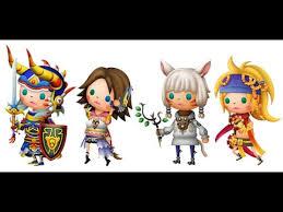 Final Fantasy Theatrhythm Curtain Call Best Characters by Theatrhythm Final Fantasy Curtain Call Gameplay Walkthrough
