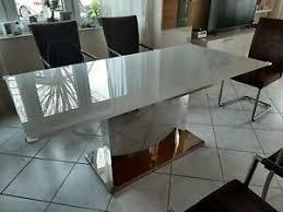 designer glastisch esszimmer möbel gebraucht kaufen ebay