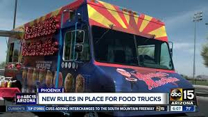 100 Food Trucks In Phoenix Arizona Food Trucks Expected To Benefit From New Law