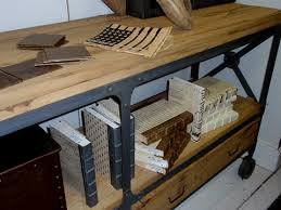 Creative of Reclaimed Wood Industrial Furniture Industrial