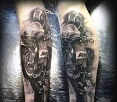 06 Motorcycle Helmet Tattoo