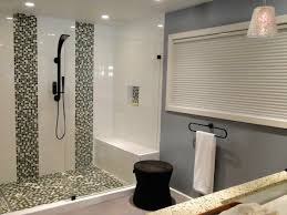 Bathrooms Design : Clever Modern Bathroom Shower Ideas Designbump ... Bathroom Tile Shower Designs Small Home Design Ideas Stylish Idea Inexpensive Best 25 Simple 90 House And Of Bathrooms Inviting With Doors At Lowes Stall Frameless Excellent Open Bathroom Shower Tile Ideas Large And Beautiful Photos Floor Patterns Ceramic Walk In Luxury Wall Interior Wonderful Decor Stalls On Pinterest Brilliant About Showers Designs
