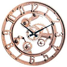 Gear Wall Clock Factory Direct Decor Small View In Industrial Clocks