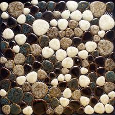 porcelain tile mosaic tile kitchen backsplash pebble mosaic shower