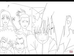 Naruto Style Drawing At GetDrawingscom Free For Personal Use