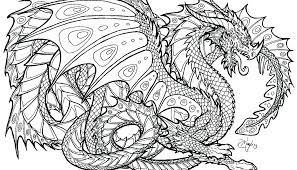 Coloring Pages Of Chinese Dragons Dragon Free For Adults Printable