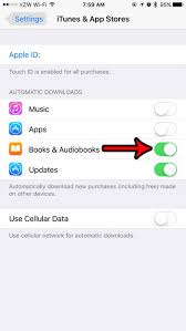 How to Automatically Download Books & Audiobooks on an iPhone 7