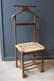 Vintage Wood Valet Folding Chair With Woven Caned Seat, Mid-20th ... Vintage Wooden Folding Chair Old Chairs Stools Amp Benches Ai Bath Pregnant Women Toilet Fniture Designhouse French European Cafe Patio Ding Best Way To Cleanpolish Wood In Rope From Maruni Mokko2 For Sale At 1stdibs Chairs Leisure Hollow Rocking Bamboo Orient Express Woven Paris Gray Rattan Set Of 2 Adjustable Armrest Mulfunction Wood Folding Chair Computer Happy Goods Industry Wind Iron