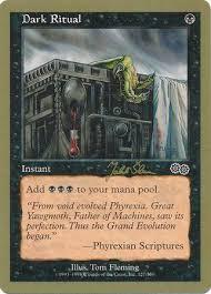 mtg world chionship decks 1997 ritual tokyo august 1999 magic the gathering world