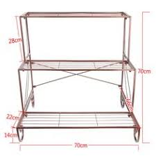 Outdoor Patio Plant Stands by Iron Plant Stand Shelf 3 Tier Garden Home Patio Indoor Outdoor