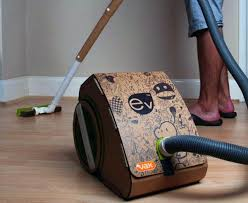 Floor Cleaning Robot Project Report by Student Invents Cardboard Vacuum