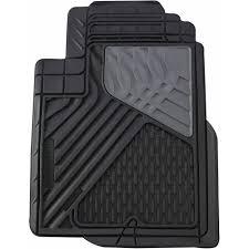 100 Heavy Duty Truck Floor Mats Go Gear Rubber Mat Mid Black 4Piece Set Walmartcom