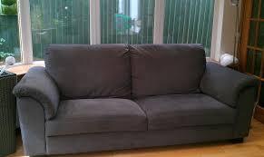 ikea tidafors 3 seater sofa tullinge grey brown in corstorphine