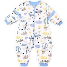 baby schlafsack mit beinen warm lined winter langarm winter schlafsack mit fuß und baby schuhe 3 5 tog körpergröße 82cm 90cm blaues flugzeug