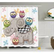 Cheap Owl Bathroom Accessories by Kids U0027 Shower Curtains Walmart Com