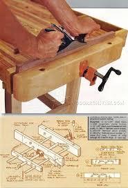 DIY Bench Vise Woodworking