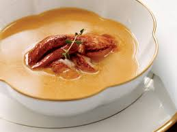 Pumpkin Bisque Recipe Vegan by Pumpkin Soup With Creole Lobster Recipe Allison Vines Rushing