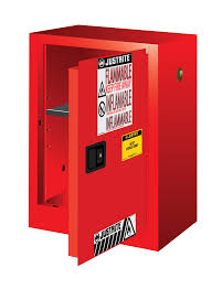 Flammable Liquid Storage Cabinet Grounding by Sure Grip Ex Compac Safety Cabinet 12 Gallons 1 Shelf 1 Door