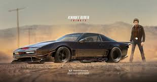 KITT Gains Wide-Body Kit In This 'Knight Rider Tribute' Rendering ...