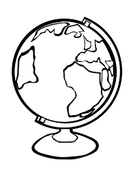 Pin Earth Clipart Coloring Page 9