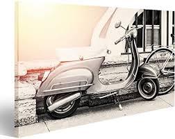 islandburner bild bilder auf leinwand motorrad auf der
