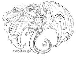 Deviantart More Like Coloring Book Dragon Ember Eyes
