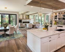 Transitional Open Concept Kitchen Designs