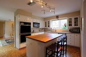 functional ideas of track kitchen lighting
