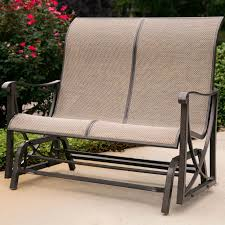 Arlington House Jackson Patio Loveseat Glider by Outdoor Double Glider Home Design Ideas And Pictures For Patio