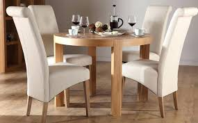 Round Dining Table For 4 Excellent Selecting Designer And Chair Set Room