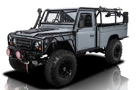 100 Land Rover Defender Truck 136334 1984 RK Motors Classic Cars For Sale