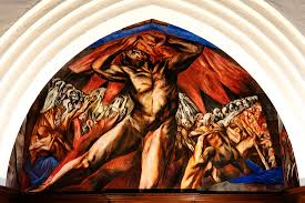 Famous Mexican Mural Artists by José Clemente Orozco U0027s Prometheus Pomona College Museum Of Art