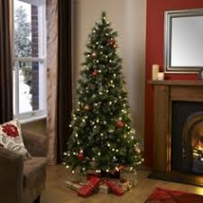 7 Ft Pre Lit Christmas Tree Argos by Buy Pre Lit Snow Tipped Pencil Christmas Tree 6ft At Argos Co Uk