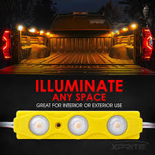 8 Amber LED Rock Light Pods Truck Bed Lighting Kit | Xprite Truck Bed Accsories Blight Bp Battery Powered Led Putco Strip Lighting Kit 186374 At 52017 Ford F150 Recon High Oput Cree Cargo Lumen Trbpodblk 8pod Lights Light Multi Color 4 To 6 Boogey Aliexpresscom Buy 8pc Waterproof Pickup K61 Xtl Technology Extreme Watch Led Install 2018 Operated With 48 Super Bright White Amazoncom