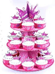 Cupcake Holders To Go Disposable Tiered Holder 3 Tier Cardboard Red White Polka Dot Paper Called