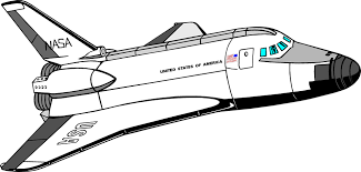 Realistic Space Shuttle Clip Art Free 85 About Remodel Clipart