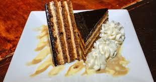 Coquette Café Opera Cake with Espresso Buttercream