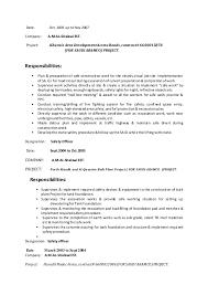 Designation Safety Supervisor 4