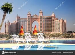 100 Water Hotel Dubai Atlantis Luxury Palm United Arab Emirates Stock